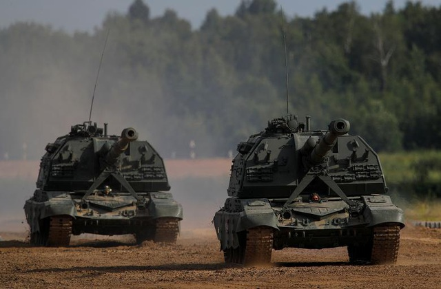 Ấn tượng dàn vũ khí Nga khai hỏa tại triển lãm quân sự - 7
