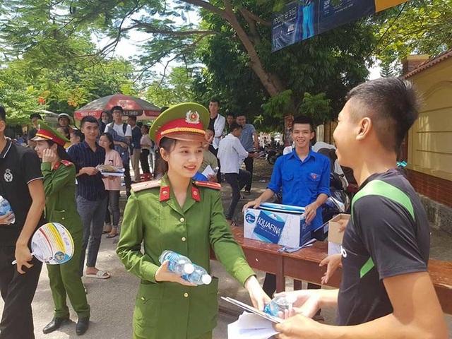 Nữ chiến sĩ công an gây thương nhớ kể chuyện về 2 lần thi trượt đại học - 1