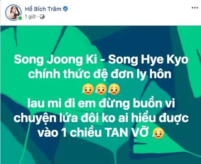 Sao Việt đồng loạt chia sẻ trước tin Song - Song ly dị - 7