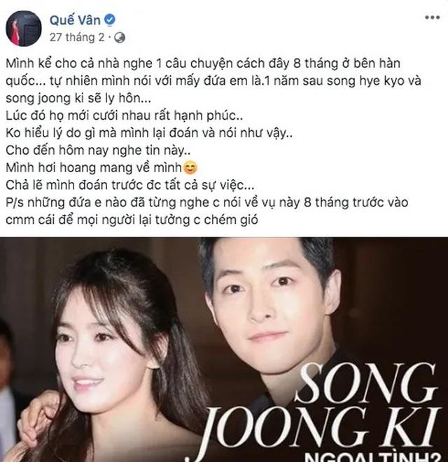 Sao Việt đồng loạt chia sẻ trước tin Song - Song ly dị - 5