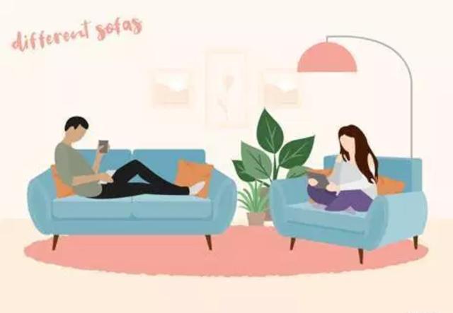 Cách cùng nhau ngồi trên ghế sofa tiết lộ tình yêu của bạn - 1
