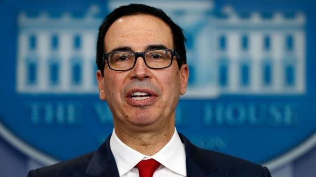 """Bộ trưởng Tài chính Mỹ: """"Thỏa thuận thương mại Mỹ-Trung đã hoàn thành 90%"""" - 1"""