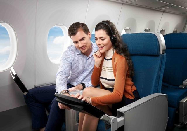 Vietnam Airlines ra mắt hạng ghế phổ thông Đặc biệt trên chặng Hà Nội - TPHCM - 2