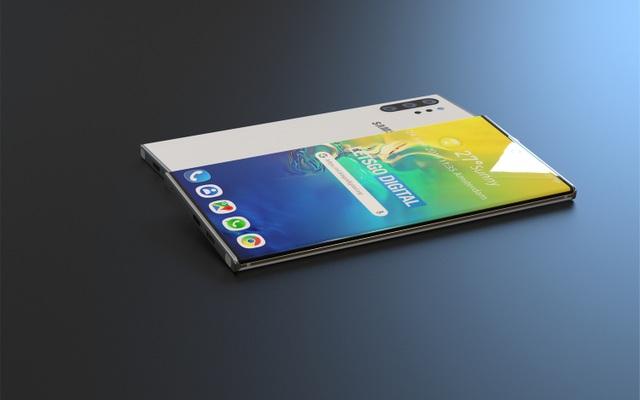 Lộ hình ảnh đẹp như mơ của Galaxy Note 10 Pro - 3