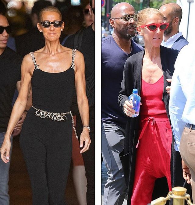 Celine Dion khoe dáng siêu thon với đồ ôm sát - 2