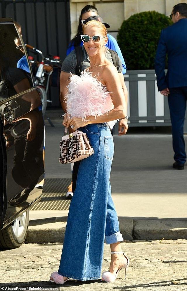 Celine Dion tiếp tục phong cách thời trang xa hoa - 2