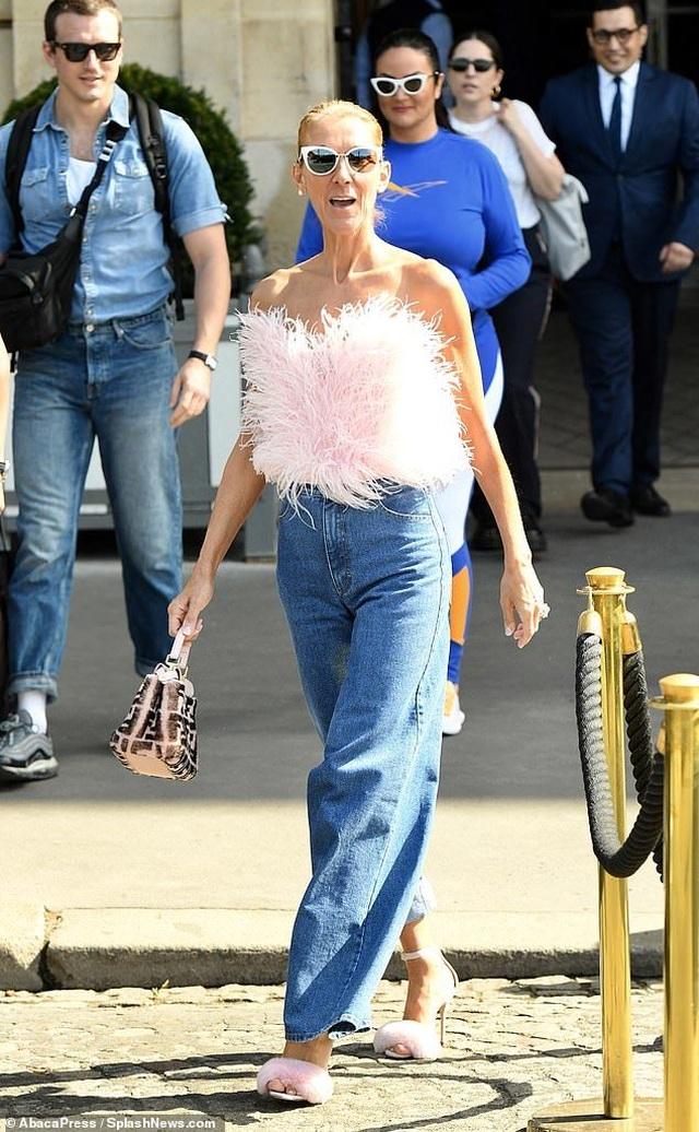 Celine Dion tiếp tục phong cách thời trang xa hoa - 3