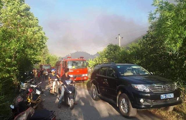 Cháy rừng cùng lúc 4 nơi ở Thừa Thiên Huế, 20 hộ dân di tán khẩn cấp - 6