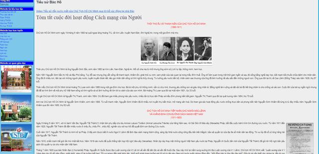 Cô học trò lớp 9 lập web về Bác Hồ để học tập tấm gương đạo đức của Người - 4