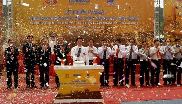 Chấm dứt hoạt động dự án sản xuất sắt xốp 1 tỷ USD tại Nghệ An - 1