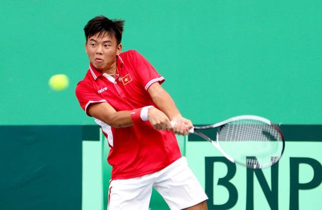 Đội tuyển quần vợt Việt Nam thăng hạng tại Davis Cup - 1