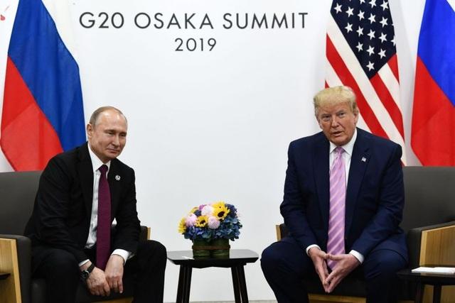 Câu nói đùa của ông Trump trước cuộc họp riêng với ông Putin tại G20 - 1