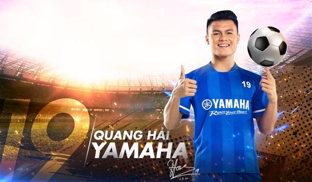 Quang Hải trở thành đại sứ thương hiệu Yamaha: Câu chuyện bây giờ mới kể - 1