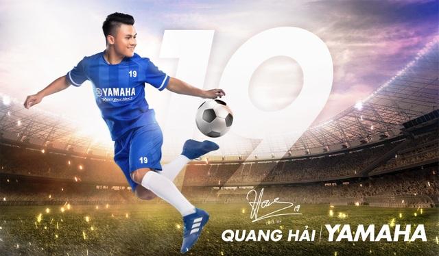 Quang Hải trở thành đại sứ thương hiệu Yamaha: Câu chuyện bây giờ mới kể - 3