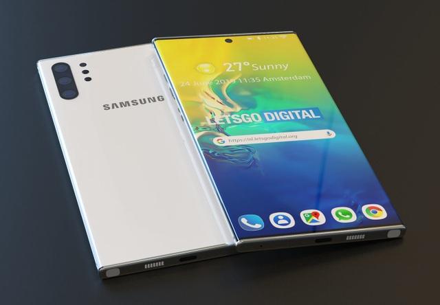 Lộ hình ảnh đẹp như mơ của Galaxy Note 10 Pro - 1