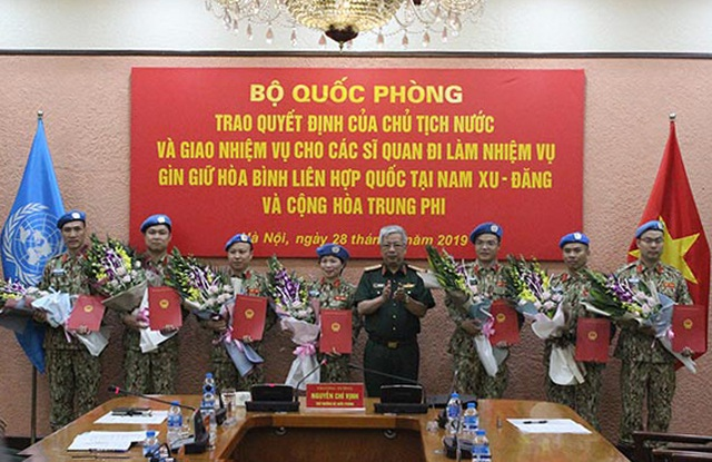 Việt Nam cử thêm 7 sĩ quan tham gia gìn giữ hoà bình Liên Hợp Quốc - 1