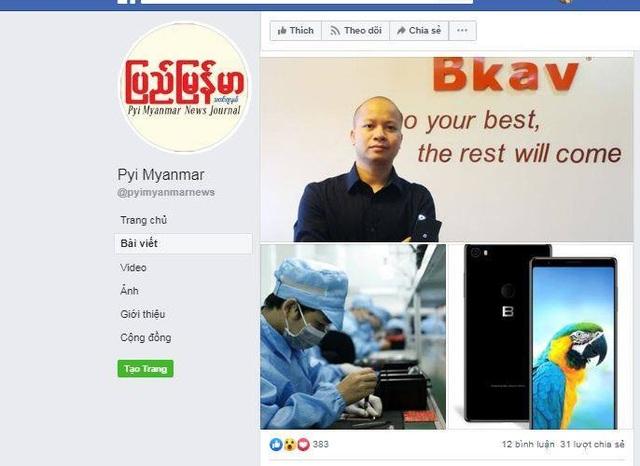 Truyền thông Myanmar tiết lộ kế hoạch Bphone 3 tại nước này - 1