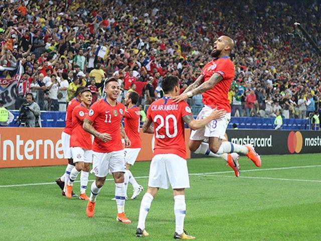 Bị VAR từ chối bàn thắng, Chile vẫn hạ Colombia trên loạt đấu súng - 6