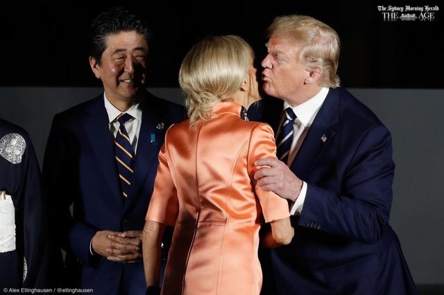Những khoảnh khắc gây chú ý của Tổng thống Trump tại G20 - 1
