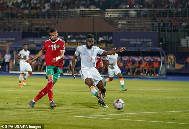 CAN 2019: Ma Rốc đánh bại Bờ Biển Ngà để giành ngôi đầu bảng D - 2