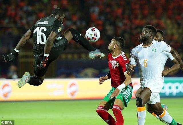 CAN 2019: Ma Rốc đánh bại Bờ Biển Ngà để giành ngôi đầu bảng D - 3