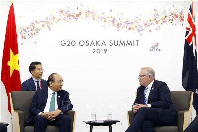 Thủ tướng Nguyễn Xuân Phúc gặp gỡ các nhà lãnh đạo thế giới - 2