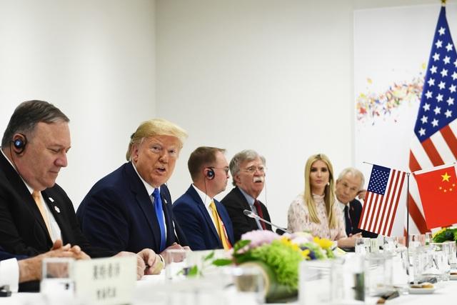 """Tổng thống Trump nói có cuộc gặp """"tốt hơn mong đợi"""" với ông Tập Cận Bình - 2"""