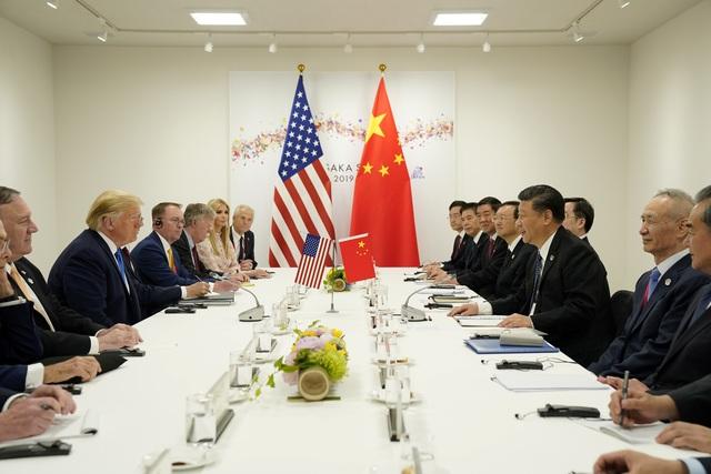 """Tổng thống Trump nói có cuộc gặp """"tốt hơn mong đợi"""" với ông Tập Cận Bình - 1"""