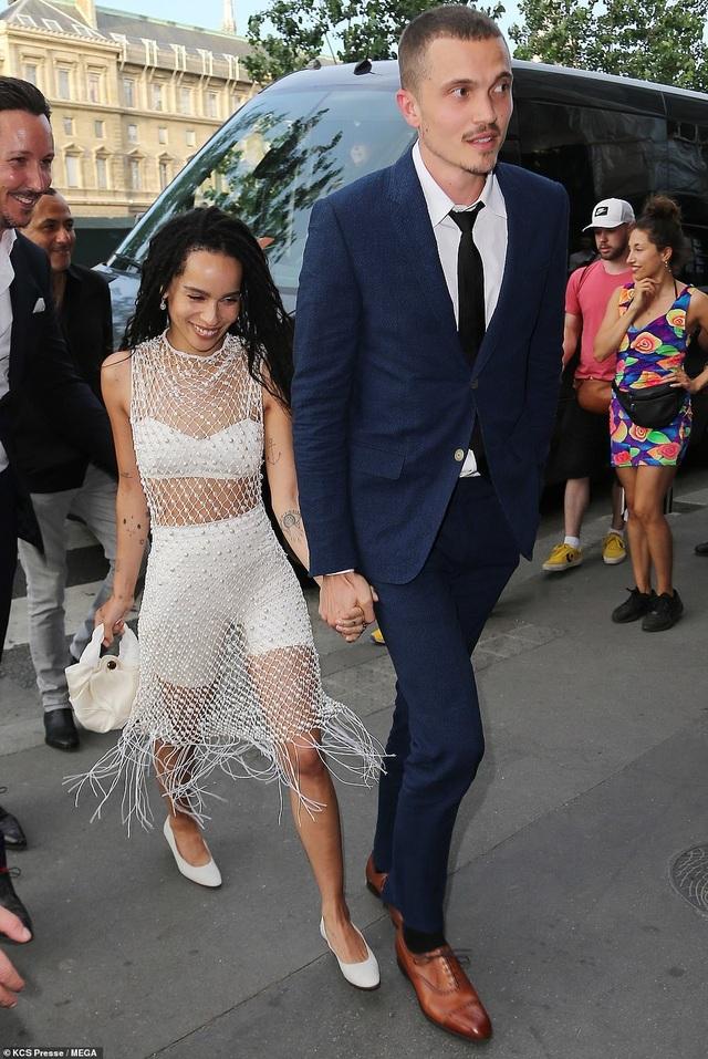 Dàn sao Hollywood dự hôn lễ của Zoe Kravitz - 1