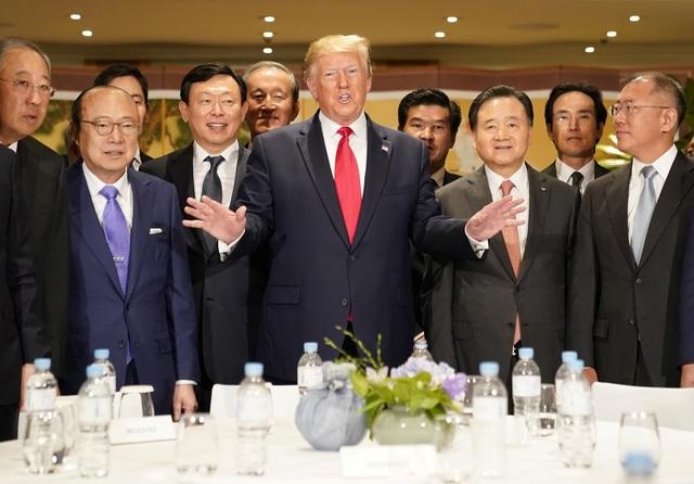 Ái nữ nhà Trump phấn khích khi gặp nhóm nhạc thần tượng Hàn Quốc - 10