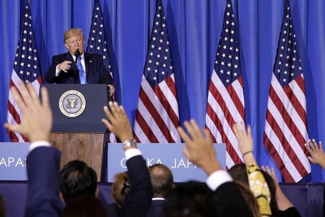 Trump bàn luận với Trung Quốc về các thỏa thuận thuế quan, chấm dứt cấm vận  Huawei - 1