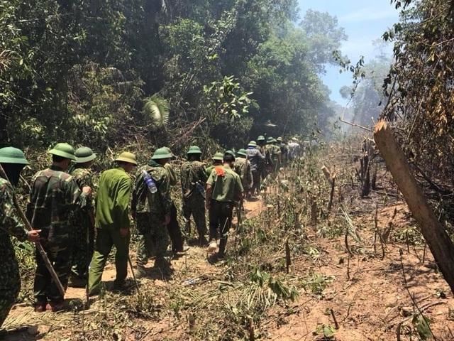 Hà Tĩnh: Lửa tiếp tục bùng phát dữ dội ở nhiều khu rừng - 2
