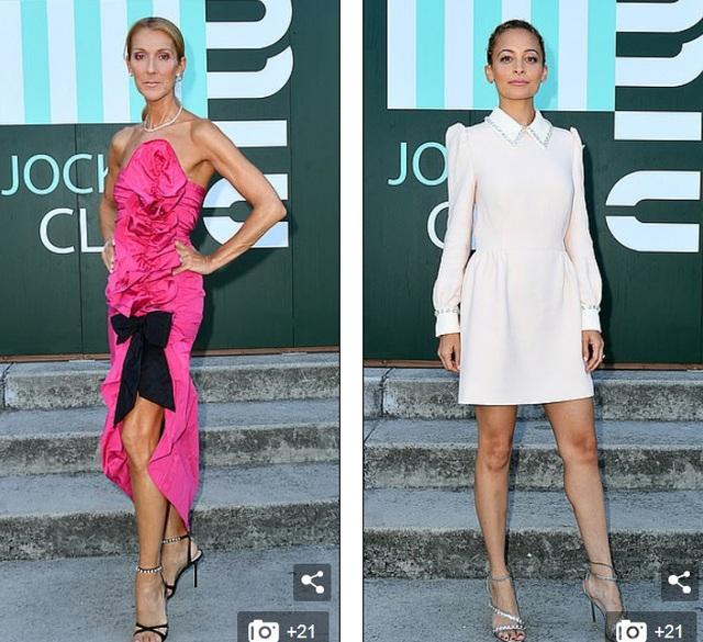 Celine Dion sành điệu đi xem thời trang - 1