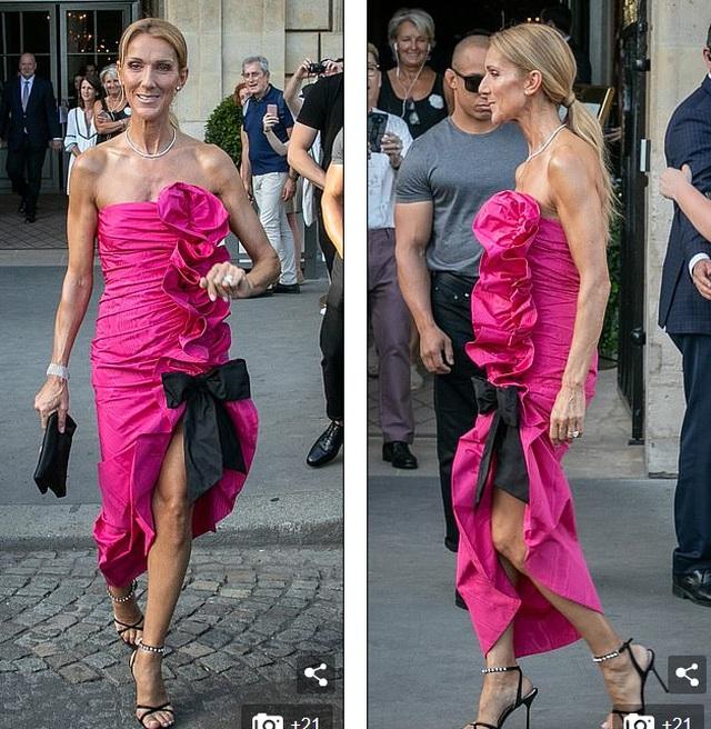 Celine Dion sành điệu đi xem thời trang - 3