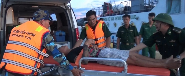 Kịp thời cấp cứu thuyền viên bệnh trọng, nguy kịch trên biển - 1