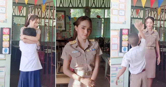 Cô giáo người Thái Lan xinh tựa thiên thần - 1
