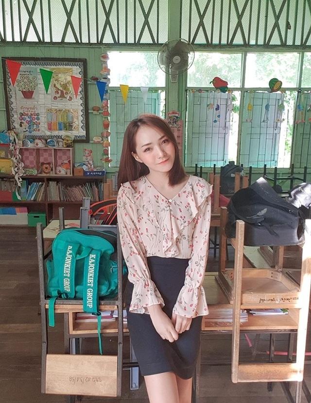Cô giáo người Thái Lan xinh tựa thiên thần - 5
