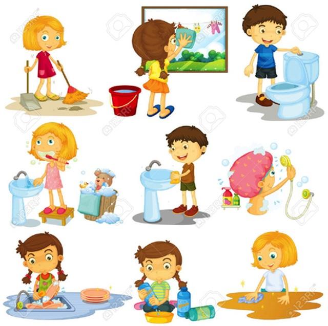 Dành cho cha mẹ: Mẹo hay khuyến khích con làm việc nhà - 1