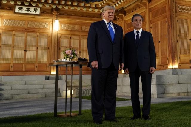 Ông Trump sắp thăm điểm nóng biên giới Hàn - Triều lần đầu tiên - 1