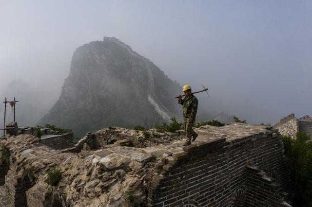 Trung Quốc dùng gạch cũ tu sửa Vạn Lý Trường Thành - 2