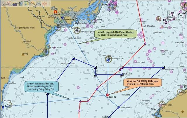 Quê nhà đứt ruột đợi tin 9 thuyền viên mất tích trên biển - 1