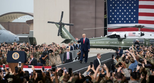 Ông Trump tiết lộ Mỹ đang cải tiến và chế tạo thêm vũ khí hạt nhân - 1