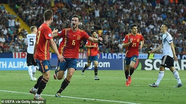 Thắng U21 Đức, U21 Tây Ban Nha lên ngôi vô địch U21 châu Âu - 1