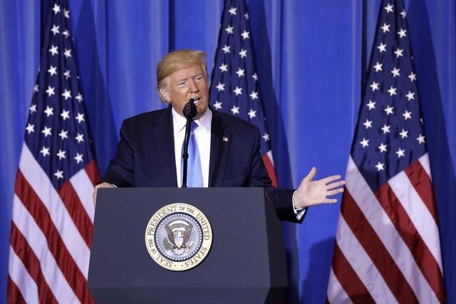 Tổng thống Trump tuyên bố: Mỹ là người chiến thắng cuộc chiến tranh thương mại - 1