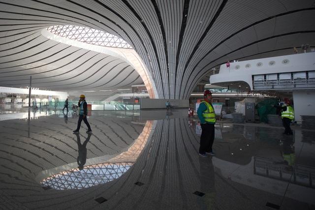 Sân bay lớn nhất thế giới ở Trung Quốc rộng gấp 63 lần quảng trường Thiên An Môn - 5