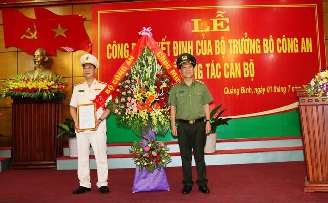 Quảng Bình có tân Giám đốc Công an tỉnh - 1