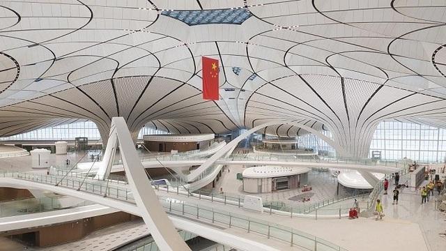 Sân bay lớn nhất thế giới ở Trung Quốc rộng gấp 63 lần quảng trường Thiên An Môn - 3