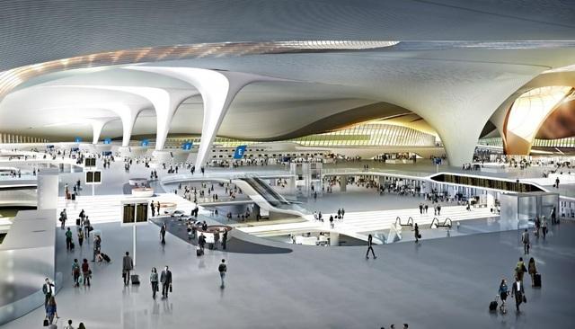 Sân bay lớn nhất thế giới ở Trung Quốc rộng gấp 63 lần quảng trường Thiên An Môn - 4