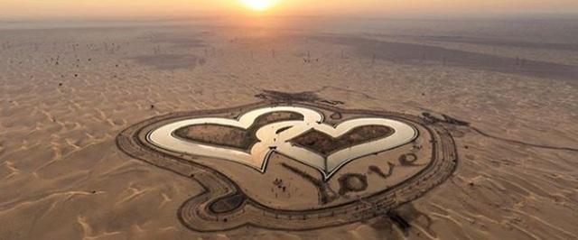Hồ nhân tạo giữa sa mạc - điểm đến xanh của Dubai - 2