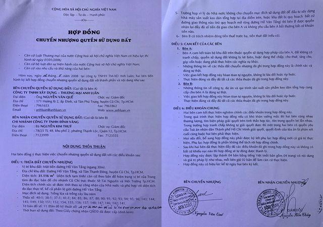 Tạm hoãn xuất cảnh lãnh đạo công ty lừa bán đất trong quy hoạch tại TP.HCM! - 2